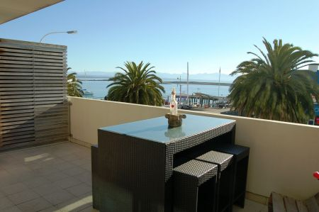 Views from the deck of an apartment at 269 Wakefield Quay, Nelson.