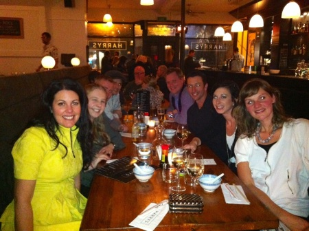 Dinner with friends - Nina James, RE/MAX Elite