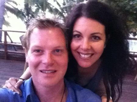 David and Nina James