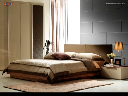 Creating a luxurious bedroom by Nina James