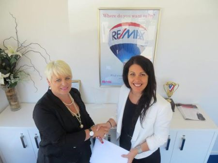 Nina James and Kate Bradley from RE/MAX Elite, Nelson, NZ