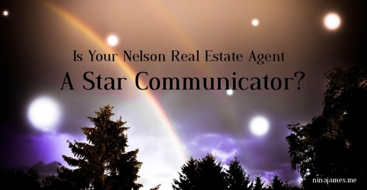 Is Your Nelson Real Estate Agent A Star Communicator?